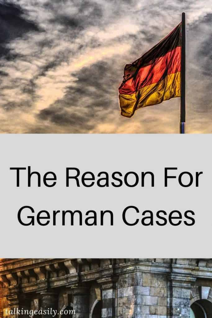The Reason for German Cases: Title Image