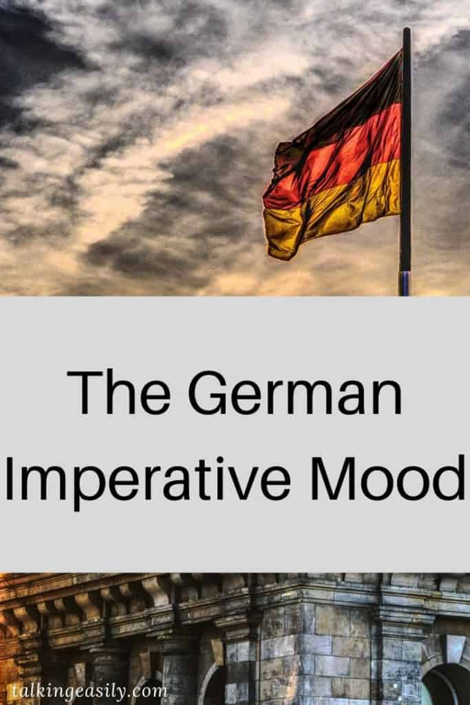 German Imperative Mood: Title Image