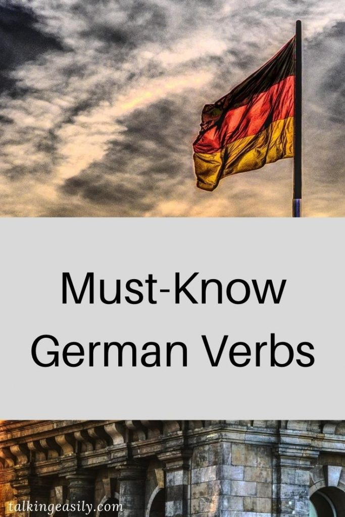 Post Pin: Must-Know German Verbs