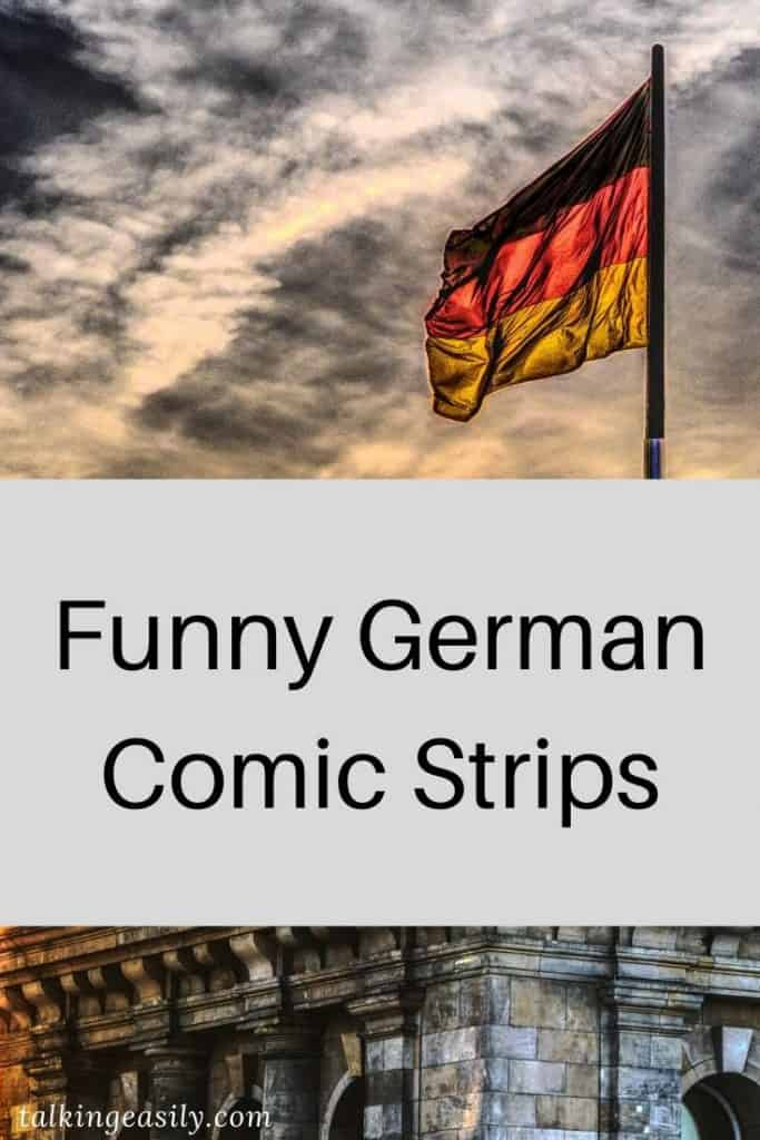 Funny German Comic Strips: Title Image