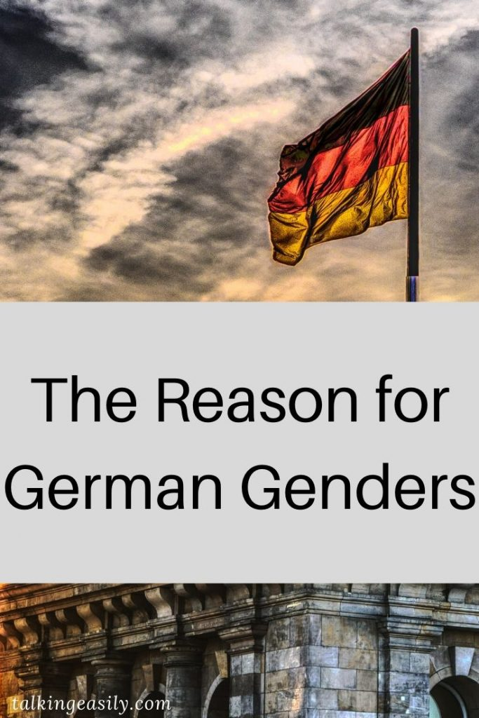 The Reason for German Genders: Title Image