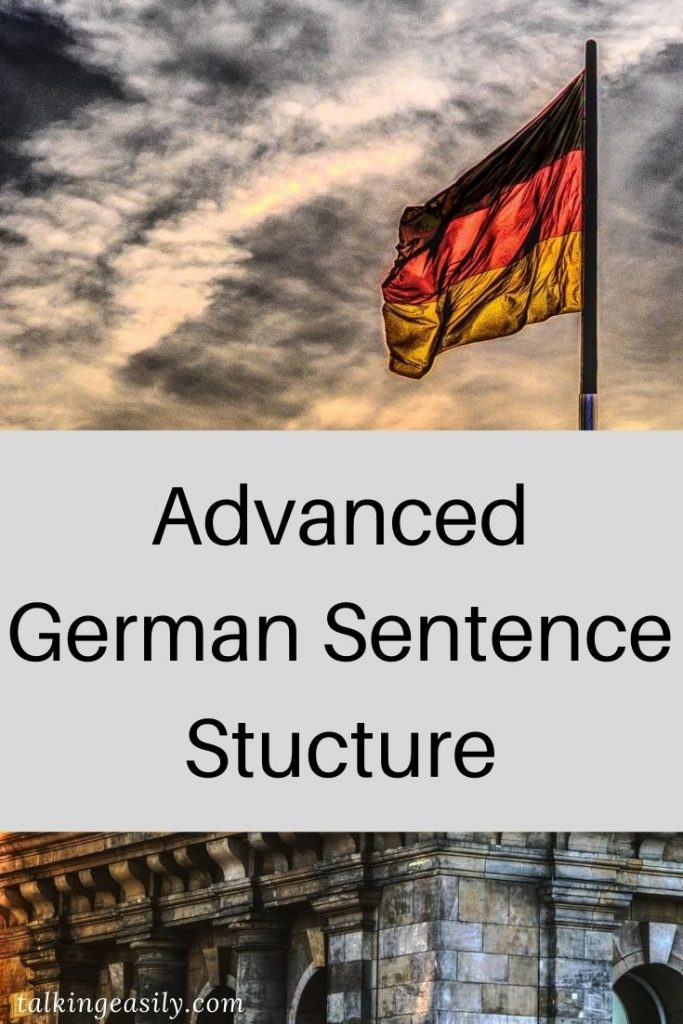Post Pin: Advanced German Sentence Structure: Title Image