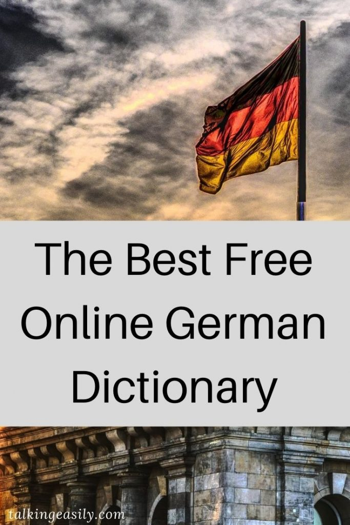 Post Pin: The Best Free Online German Dictionary