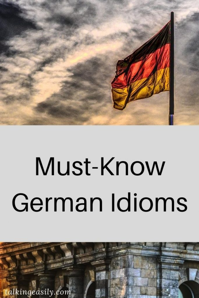 Must-Know German Idioms: Post Pin