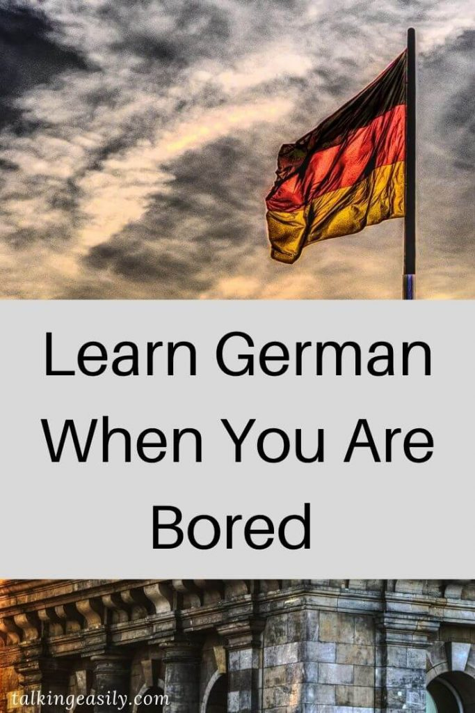 Post Pin: Learn German When You Are Bored